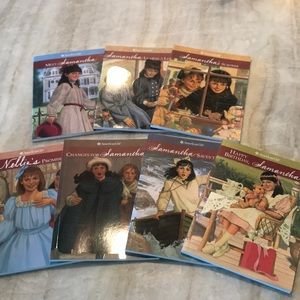 American Girl Samantha and Nellie Books (Set of 7)